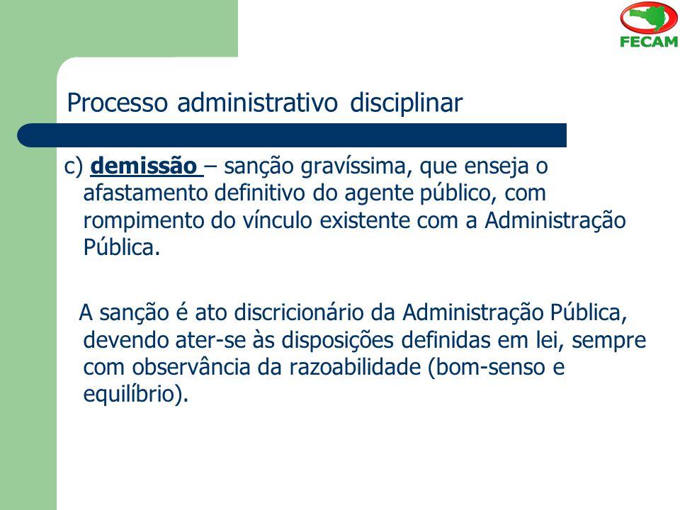 Processo administrativo disciplinar