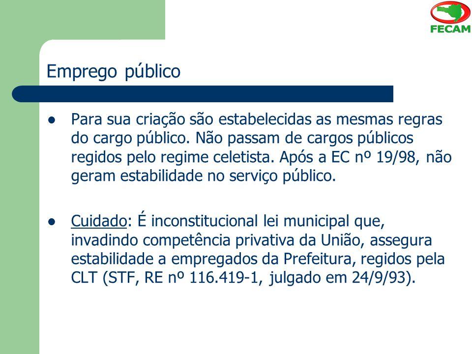 Emprego público