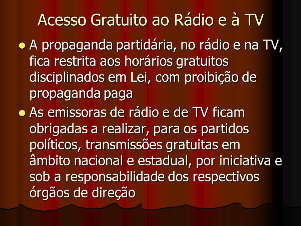 Acesso Gratuito ao Rádio e à TV