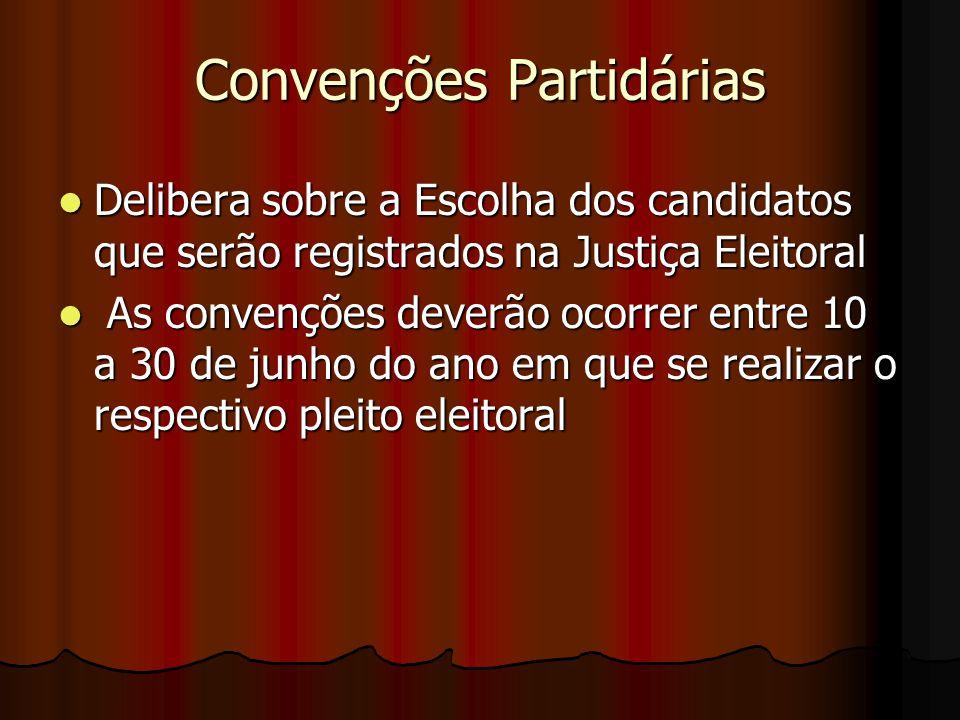 Convenções Partidárias