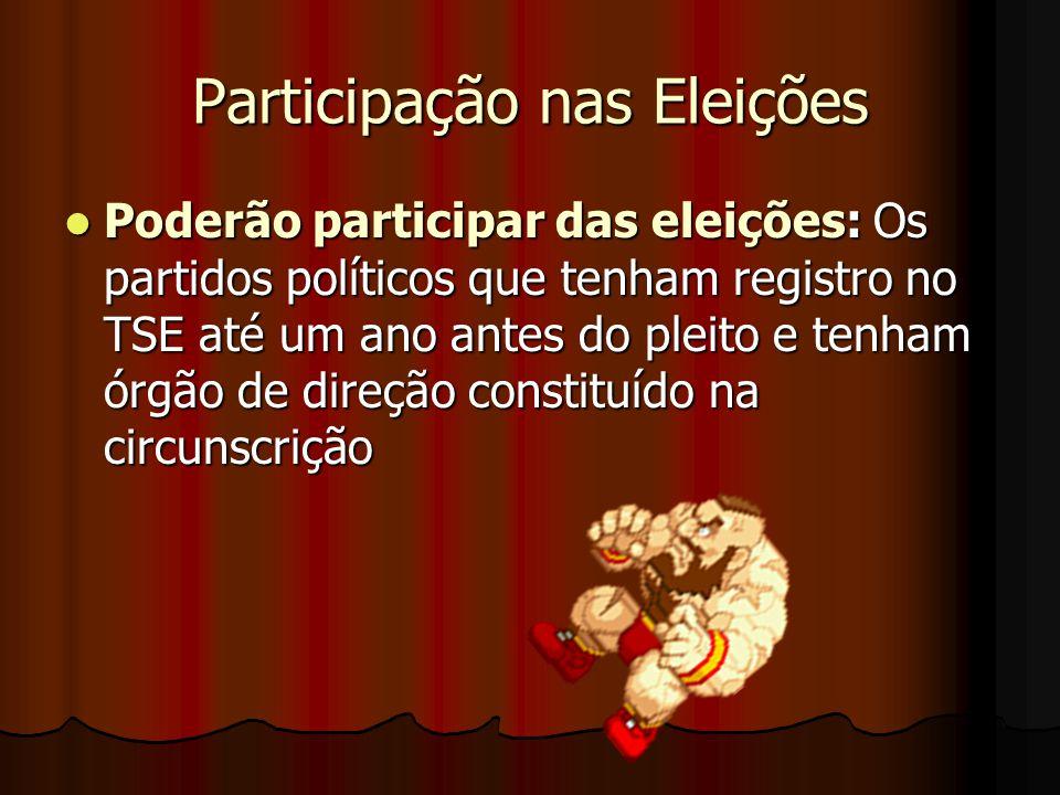 Participação nas Eleições