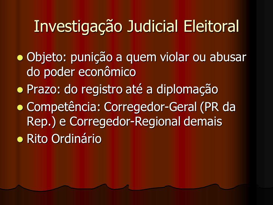 Investigação Judicial Eleitoral