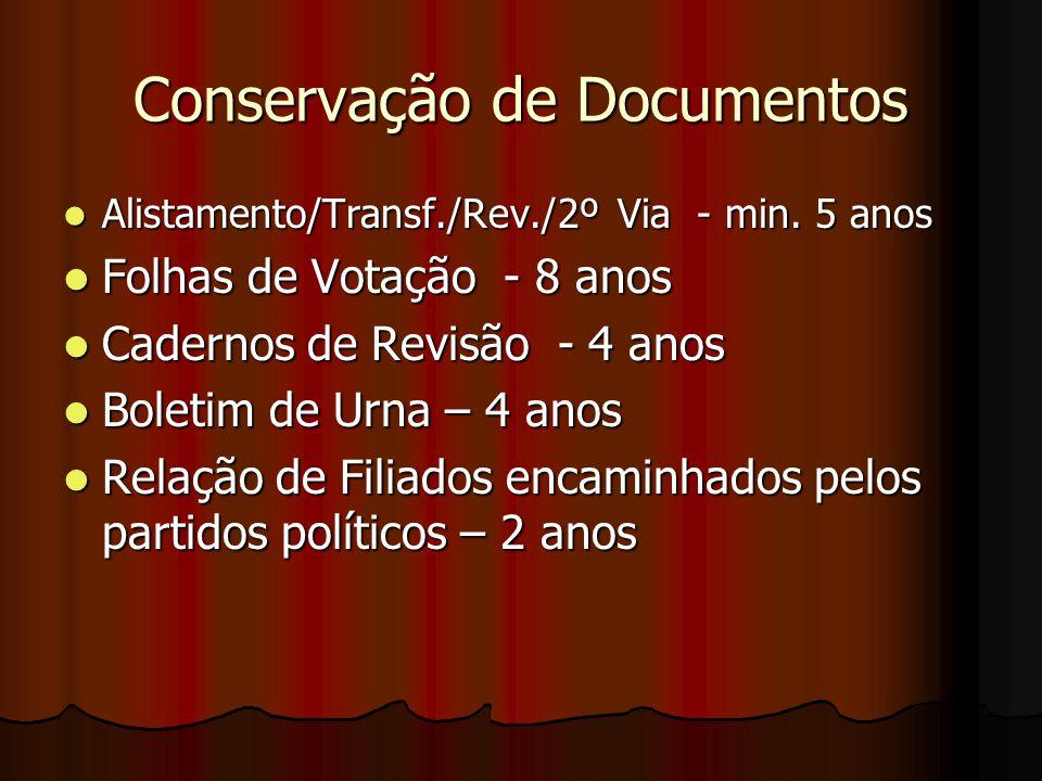 Conservação de Documentos