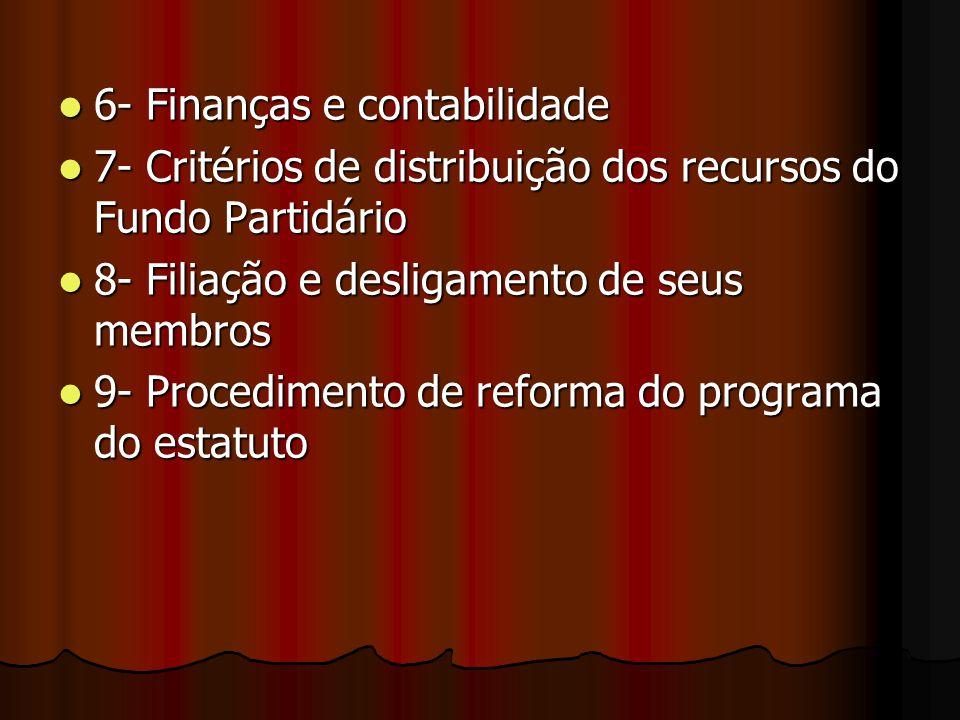 6- Finanças e contabilidade