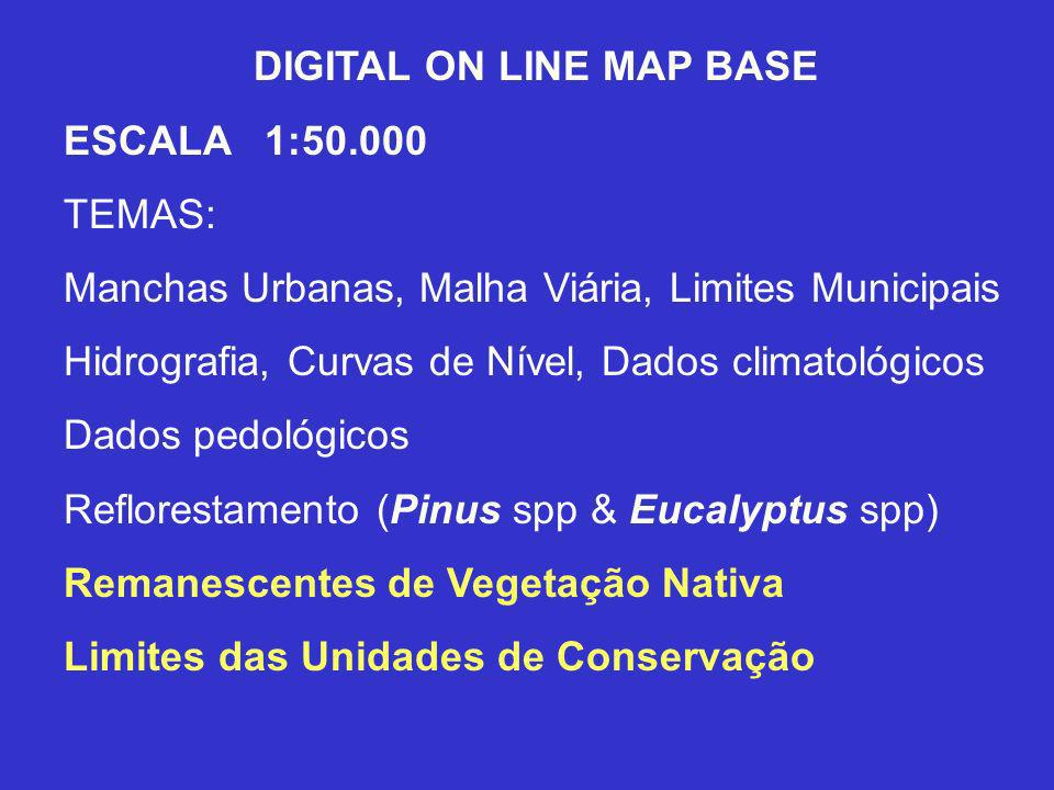 DIGITAL ON LINE MAP BASE
