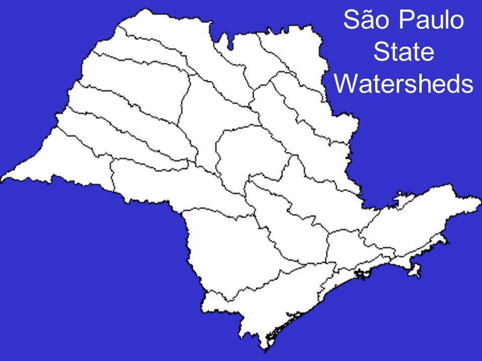 São Paulo State Watersheds
