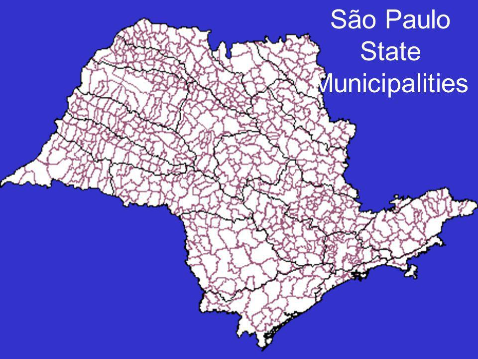 São Paulo State Municipalities