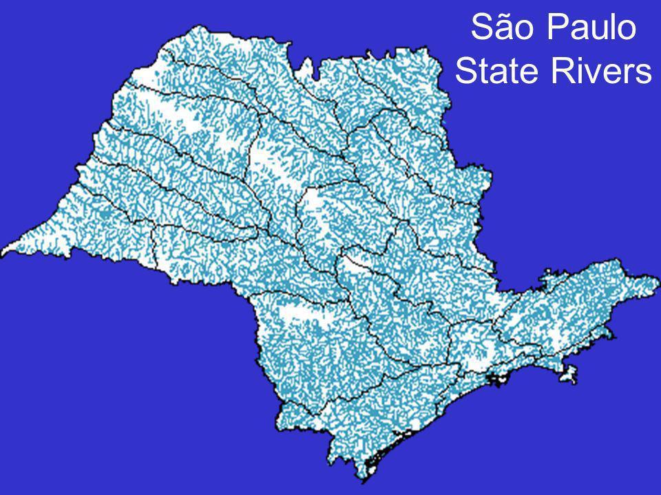São Paulo State Rivers