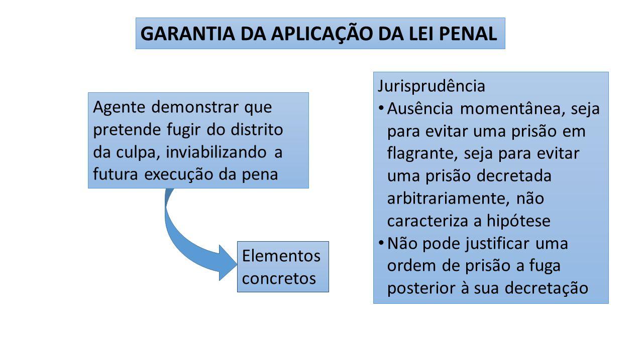 GARANTIA DA APLICAÇÃO DA LEI PENAL