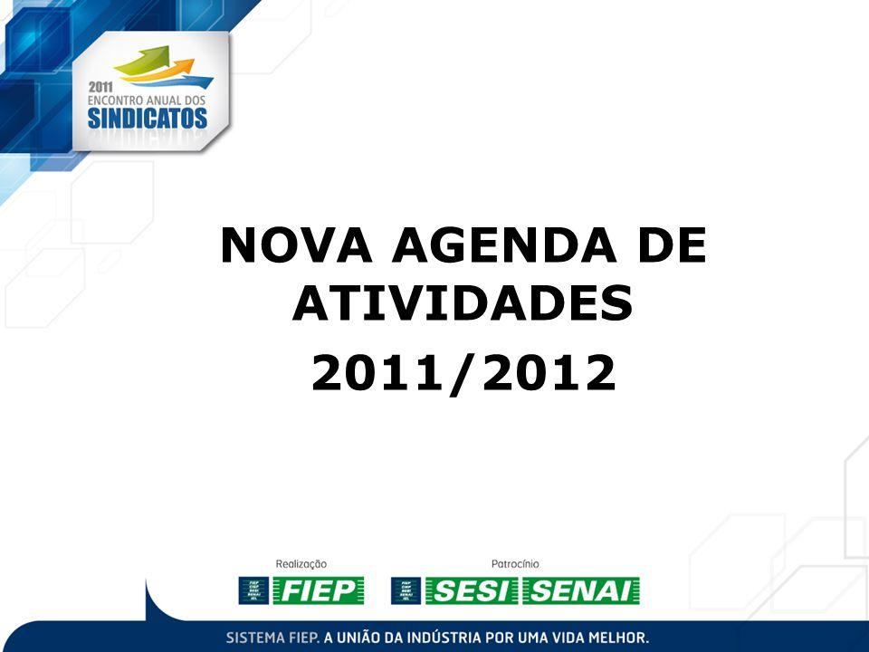 NOVA AGENDA DE ATIVIDADES 2011/2012