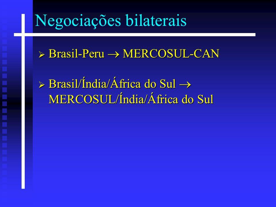 Negociações bilaterais