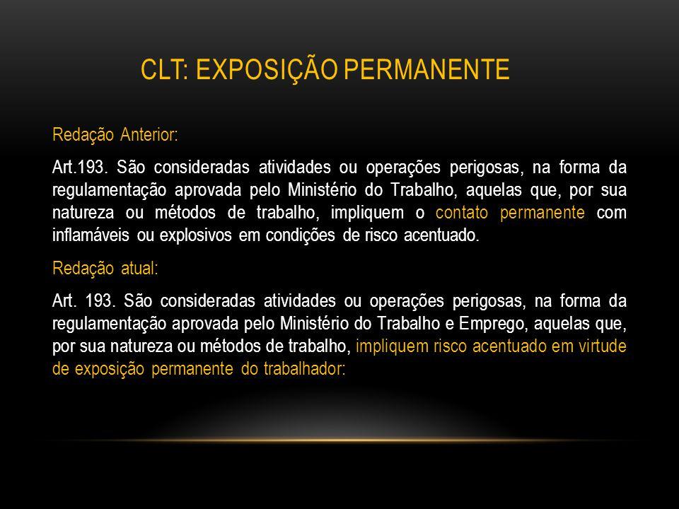 clt: Exposição permanente