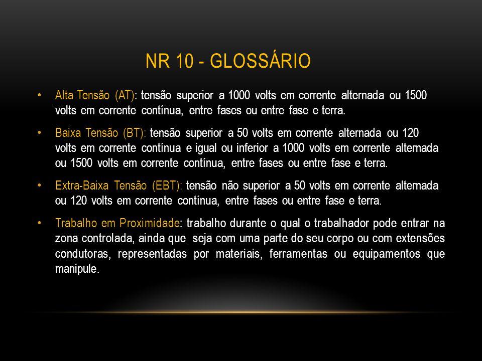 NR 10 - glossário