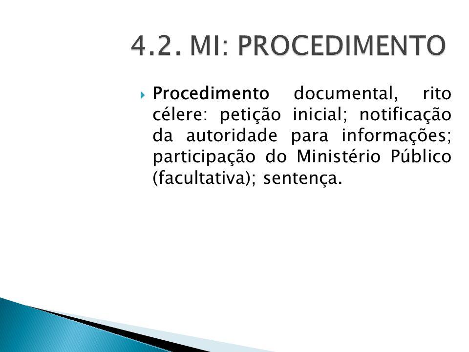 4.2. MI: PROCEDIMENTO