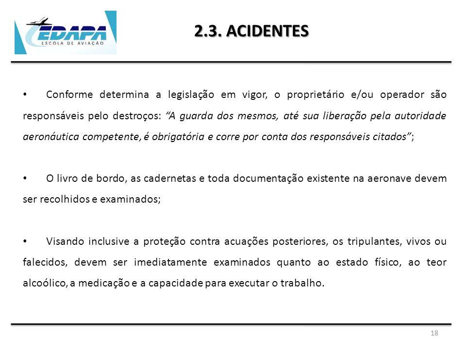2.3. ACIDENTES