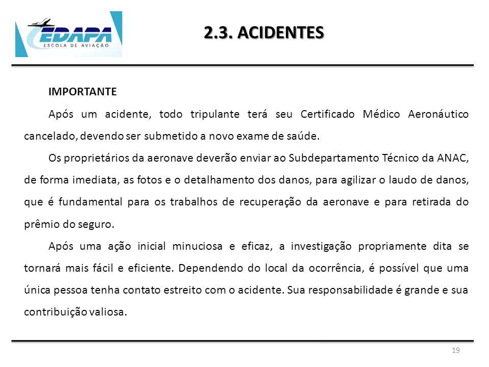 2.3. ACIDENTES IMPORTANTE.