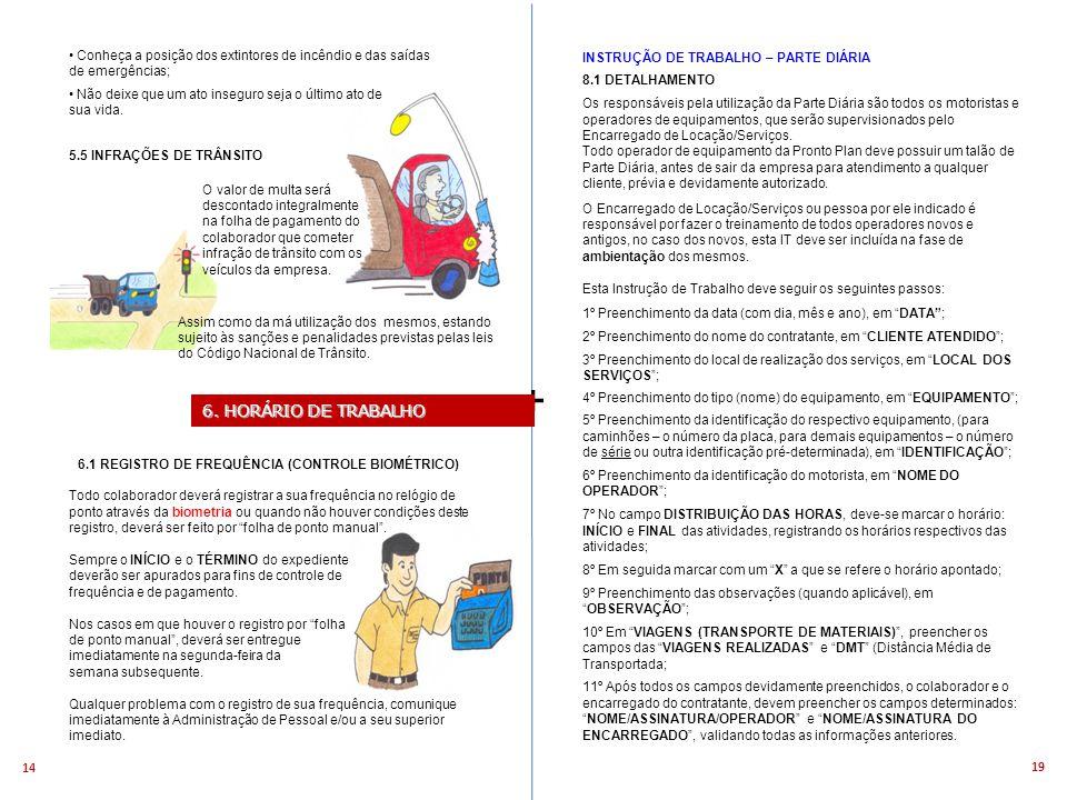 6.1 REGISTRO DE FREQUÊNCIA (CONTROLE BIOMÉTRICO)