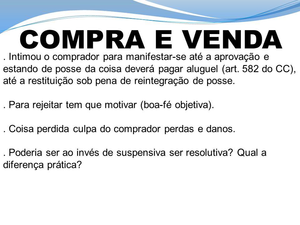 COMPRA E VENDA