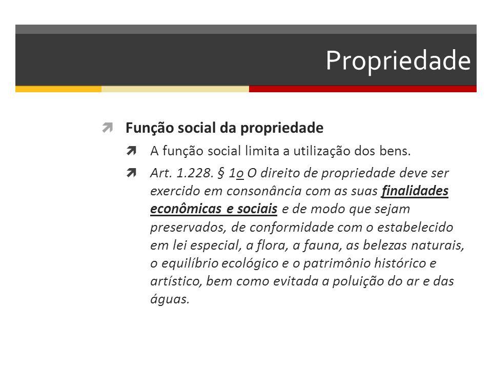 Propriedade Função social da propriedade