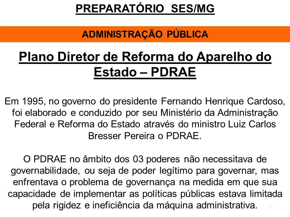 Plano Diretor de Reforma do Aparelho do Estado – PDRAE