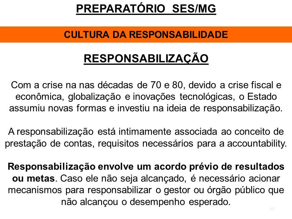 CULTURA DA RESPONSABILIDADE