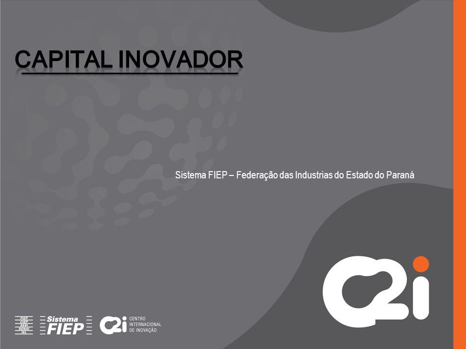 Capital INOVADOR Sistema FIEP – Federação das Industrias do Estado do Paraná