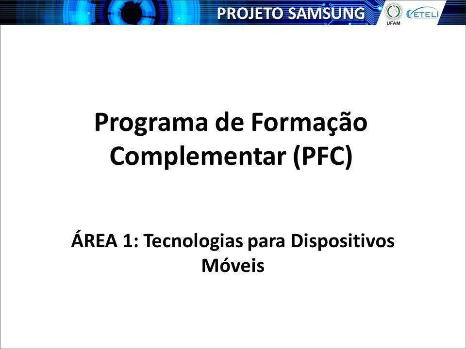 Programa de Formação Complementar (PFC)