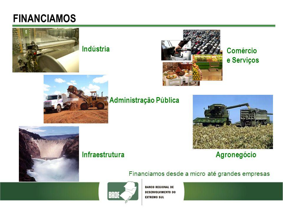 FINANCIAMOS FOTO Indústria Comércio e Serviços Administração Pública