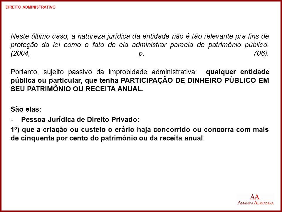 Pessoa Jurídica de Direito Privado: