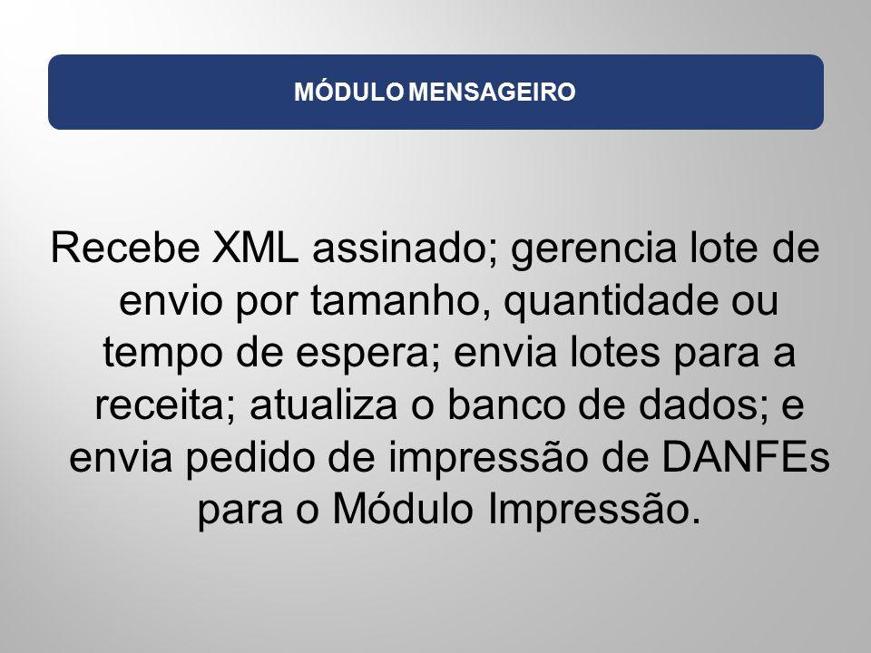 MÓDULO MENSAGEIRO