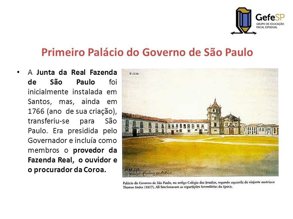 Primeiro Palácio do Governo de São Paulo