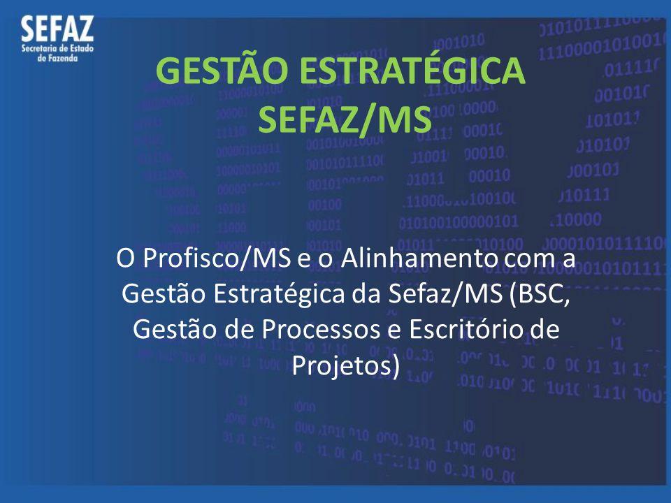 GESTÃO ESTRATÉGICA SEFAZ/MS