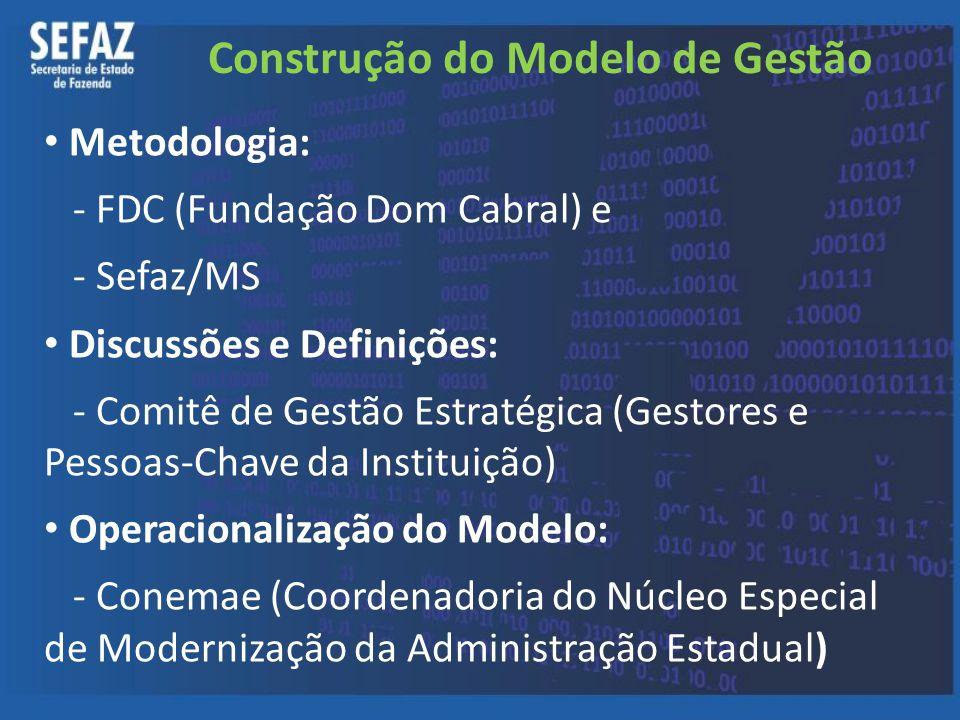 Construção do Modelo de Gestão