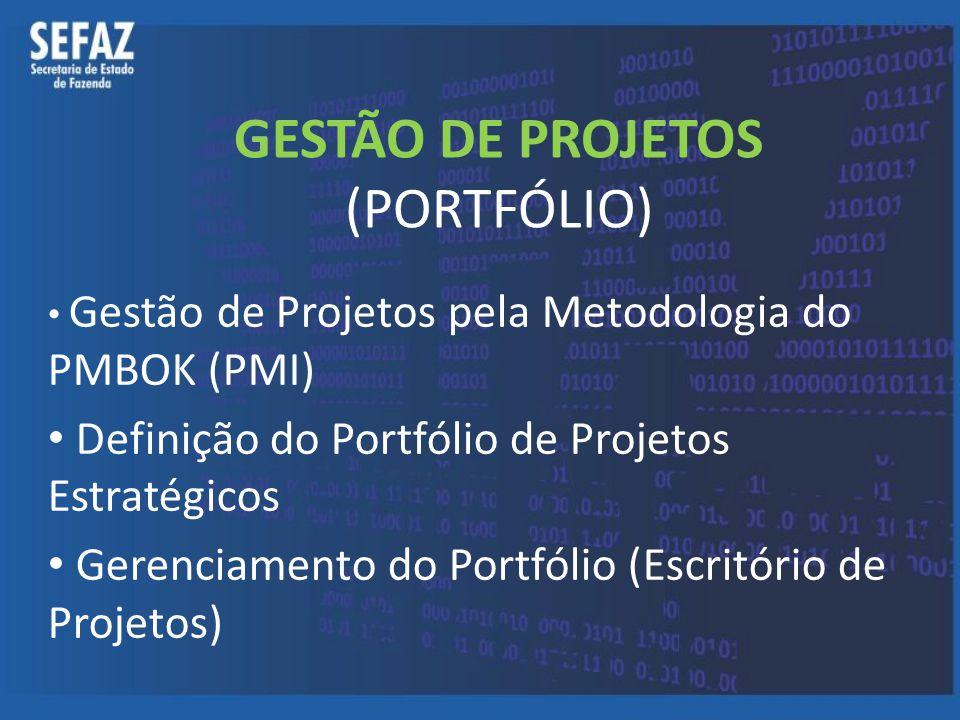 GESTÃO DE PROJETOS (PORTFÓLIO)