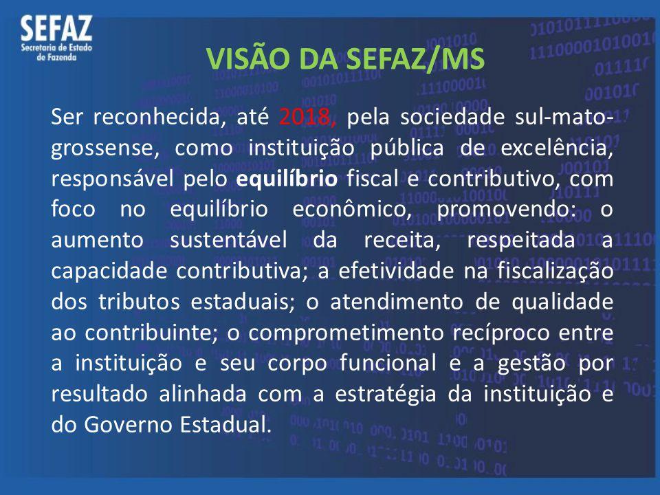 VISÃO DA SEFAZ/MS