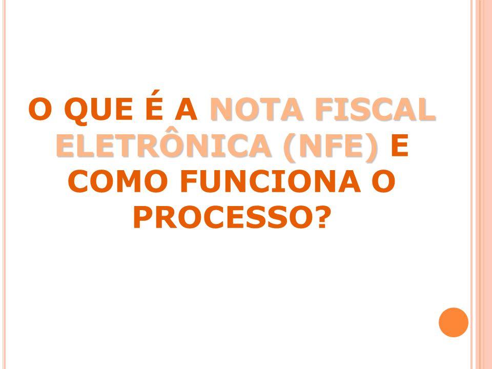 O QUE É A NOTA FISCAL ELETRÔNICA (NFE) E COMO FUNCIONA O PROCESSO