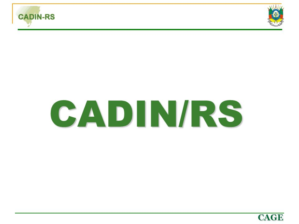 CADIN/RS