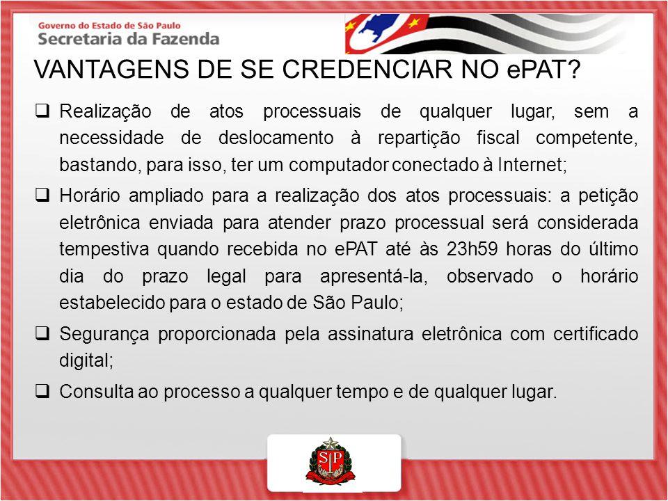 VANTAGENS DE SE CREDENCIAR NO ePAT