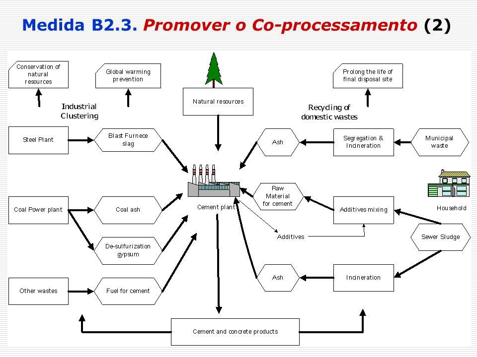 Medida B2.3. Promover o Co-processamento (2)