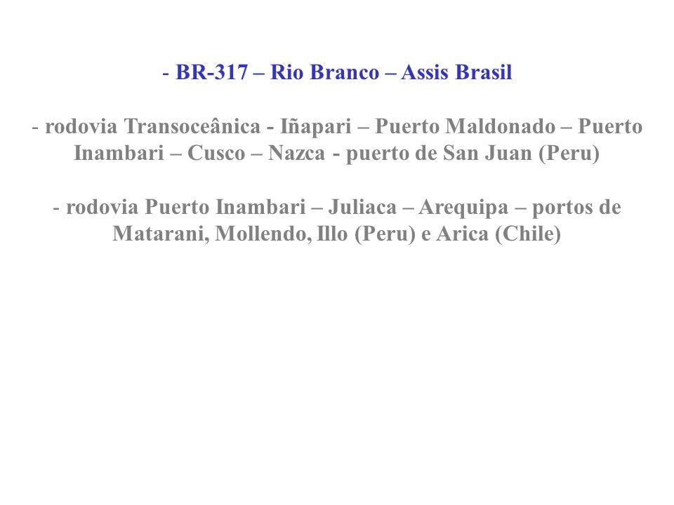 BR-317 – Rio Branco – Assis Brasil