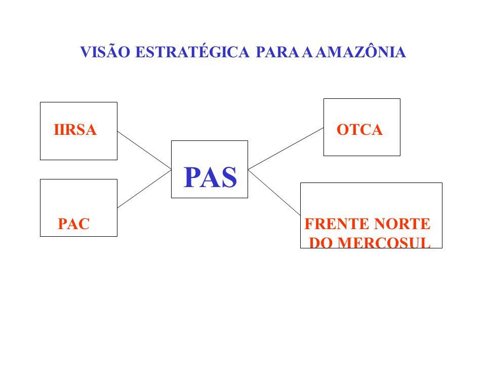 VISÃO ESTRATÉGICA PARA A AMAZÔNIA