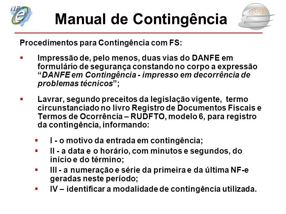 Manual de Contingência