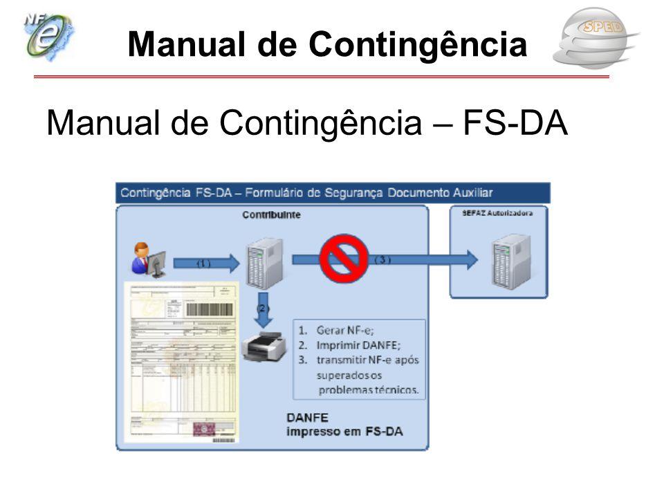 Manual de Contingência – FS-DA
