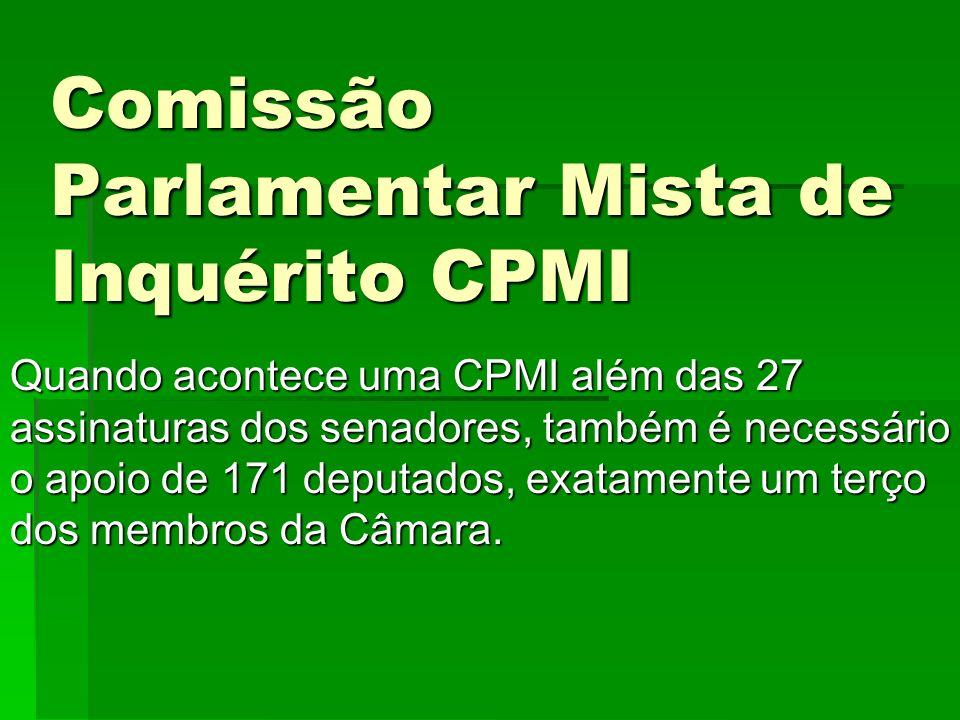 Comissão Parlamentar Mista de Inquérito CPMI