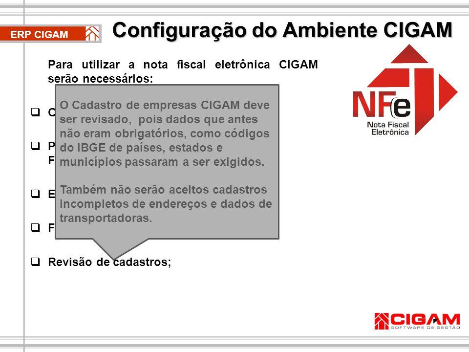 Configuração do Ambiente CIGAM