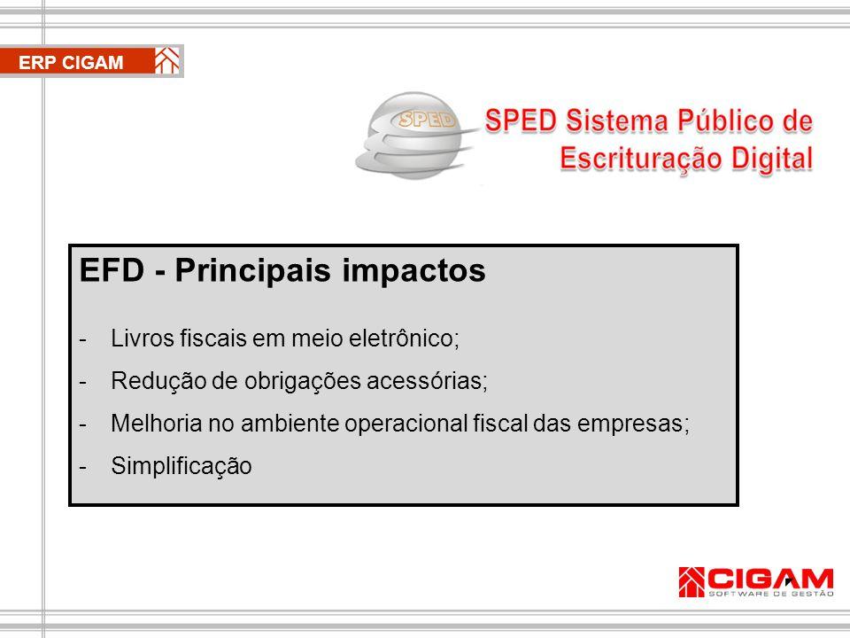 EFD - Principais impactos