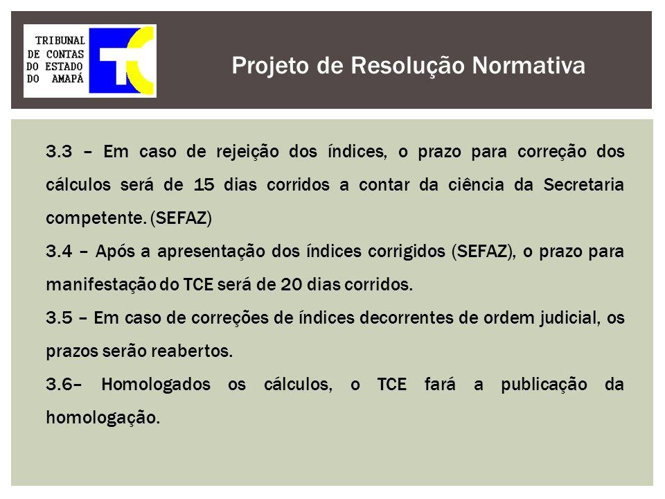 Projeto de Resolução Normativa