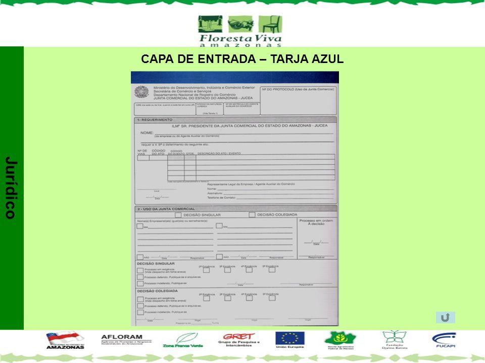 CAPA DE ENTRADA – TARJA AZUL