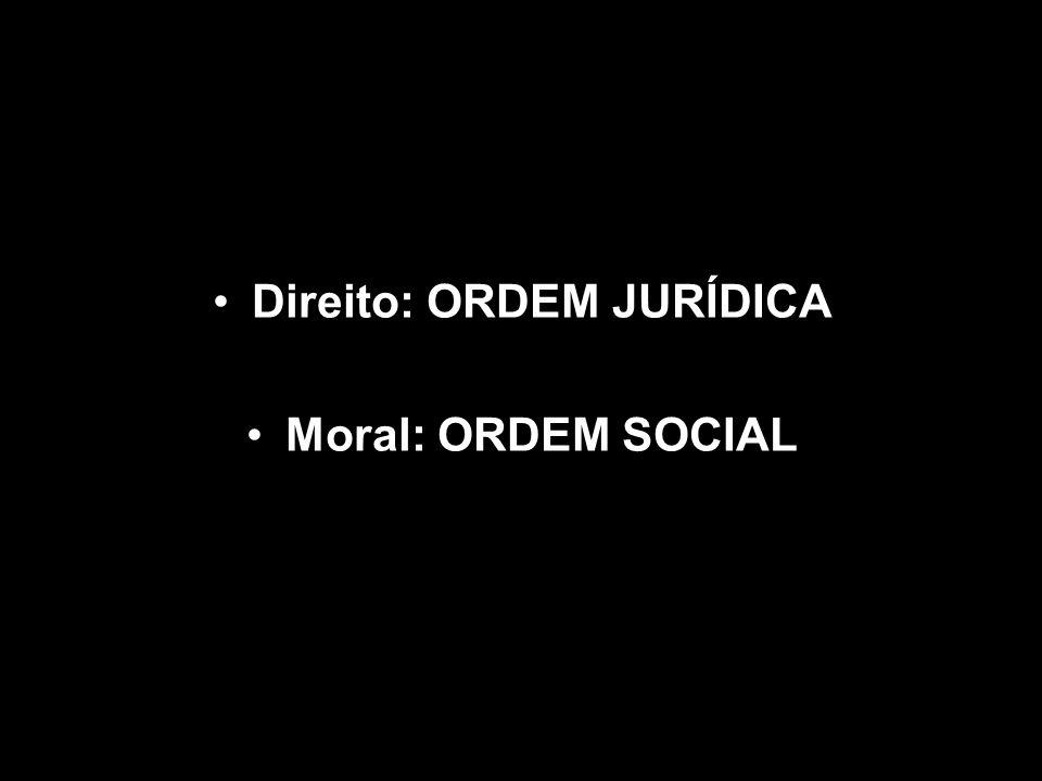 Direito: ORDEM JURÍDICA