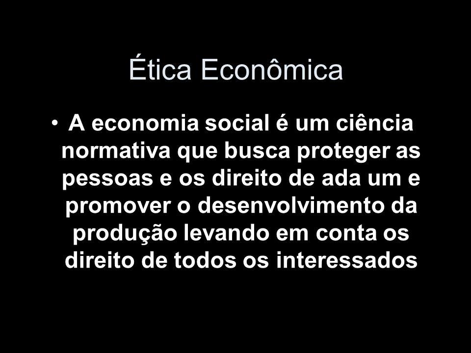 Ética Econômica